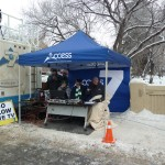 Our friends at Access Communications / Nos amis Access Communications