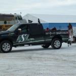 The NAIG Truck in full decoration / L'automobile des JAAN, qui est complètement décorée