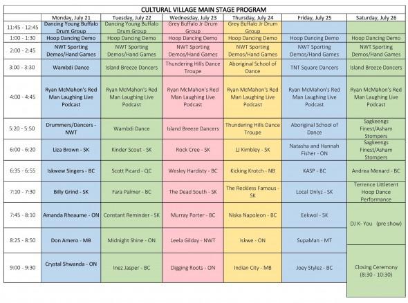 Cultural Village Schedule-page-001