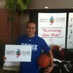 Basketball player and past NAIG Athlete Michael Linklater / Michael Linklater, un joueur de basketball et un athlète des JAAN précédents